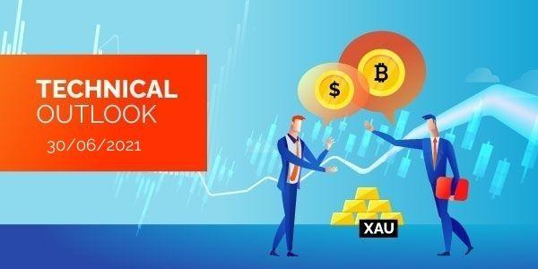 Technical-Analysis-Bitcoin-EURUSD-Gold-30th-June