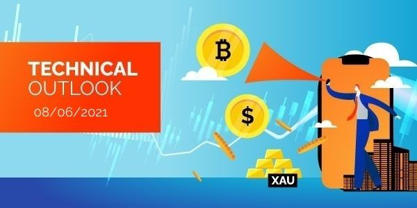 Technical-Analysis-Bitcoin-EURUSD-Gold-8th-June