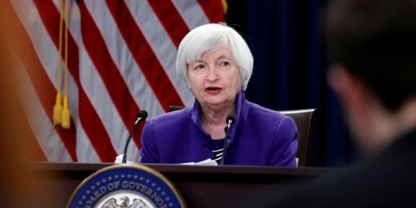The USD Contracts after Yellen's Testimony